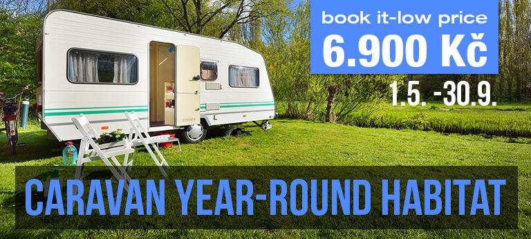 Year-round caravan lot